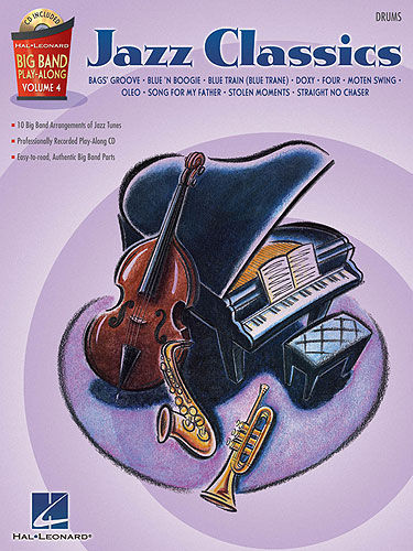 Hal Leonard Jazz Classics Big Band 4 Drums