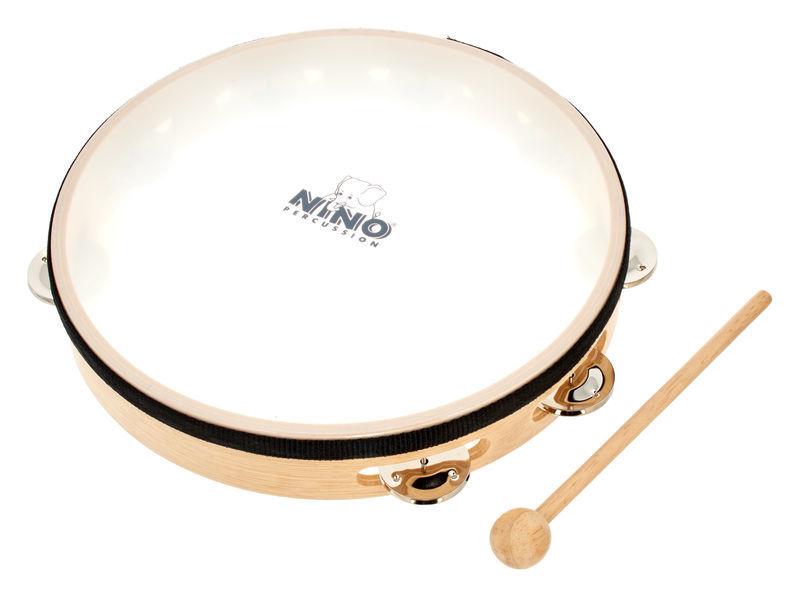 Nino Nino 25 Wood Tambourine