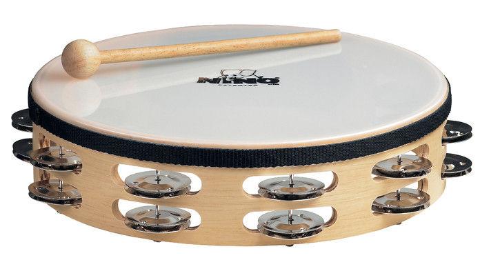 Nino Nino 26 Wood Tambourine