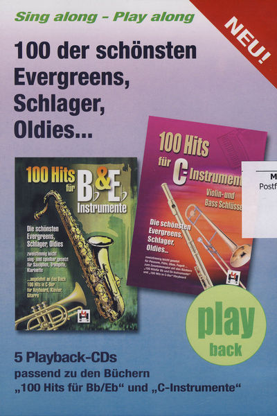 Musikverlag Hildner 100 Hits Playback CDs Vol.1