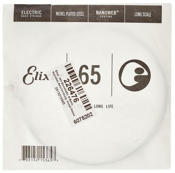 Elixir .065 EL Bass Single String