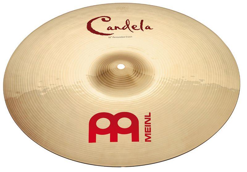 "Meinl 16"" Candela Percussion Crash"
