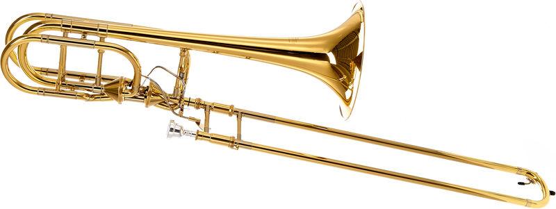 Kanstul 1585 T Bb/F/Gb/D Bass Trombone