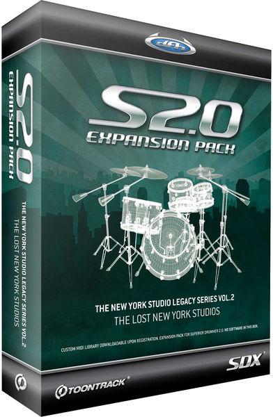 Toontrack SDX The Lost New York Studios