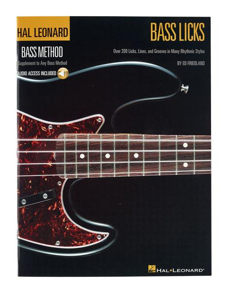 Hal Leonard Bass Licks
