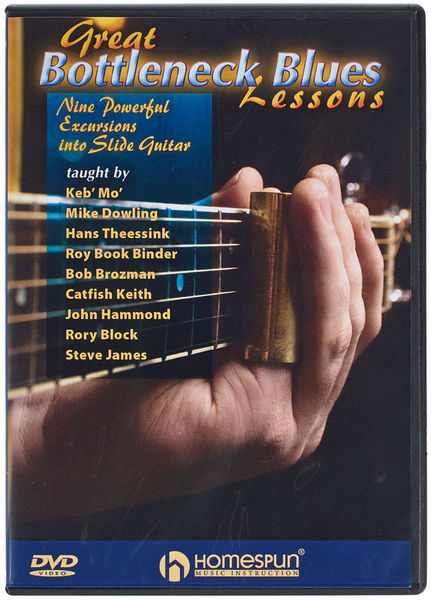 Homespun Great Bottleneck Blues DVD