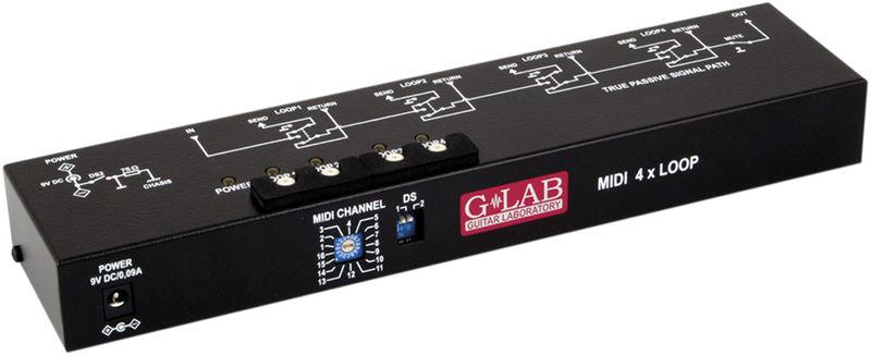G Lab MIDI 4x Loop