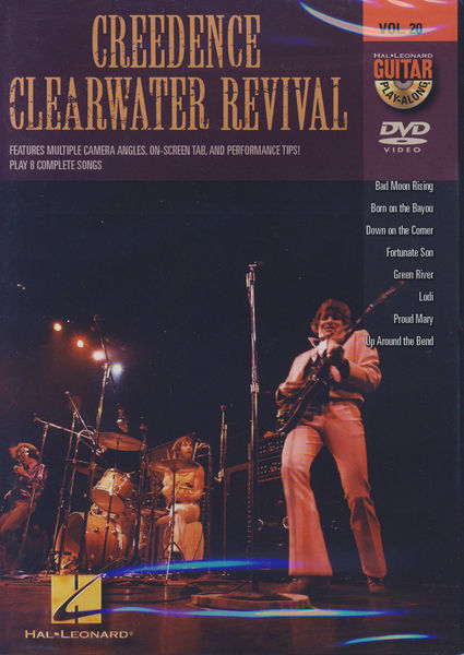 Hal Leonard Creedence Clearwater DVD