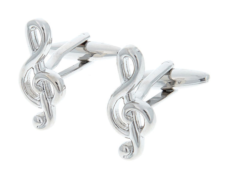 Musikboutique Hahn Cuff Links Treble Clef