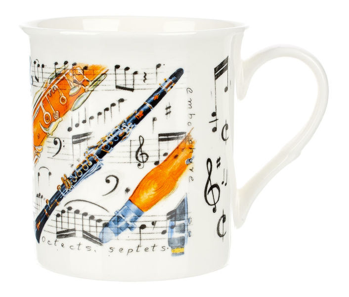 Music Sales Noble Coffee Mug Clarinet