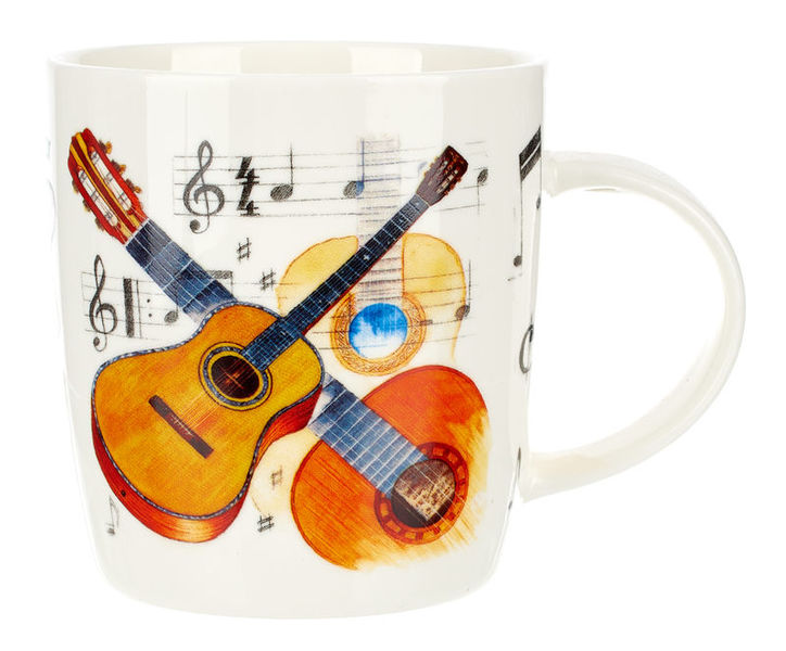Music Sales Noble Coffee Mug Guitar