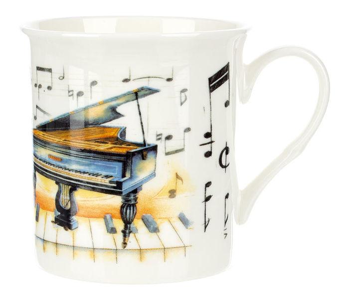 Music Sales Noble Coffee Mug Piano