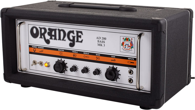 Orange AD200B Mk3 Black
