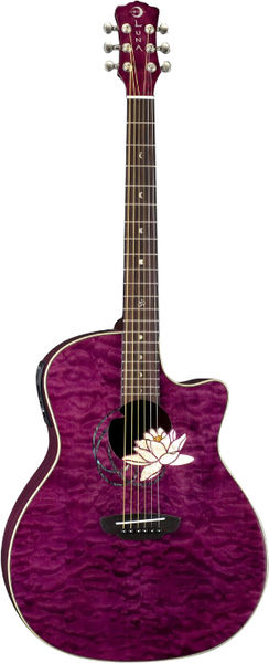 Luna Guitars Flora Lotus