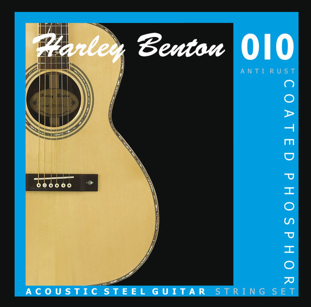 Harley Benton Coated Phosphor 010 Anti Rust