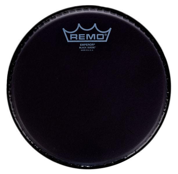 """Remo 08"""" Emperor Black Suede"""
