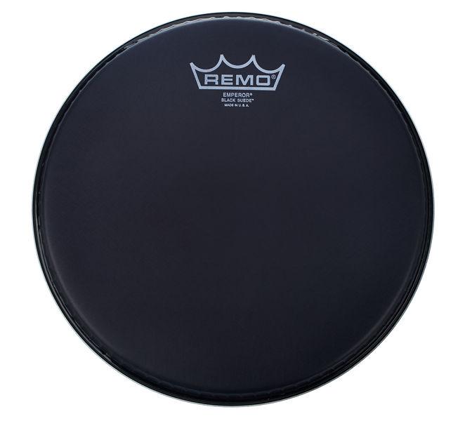 """Remo 10"""" Emperor Black Suede"""