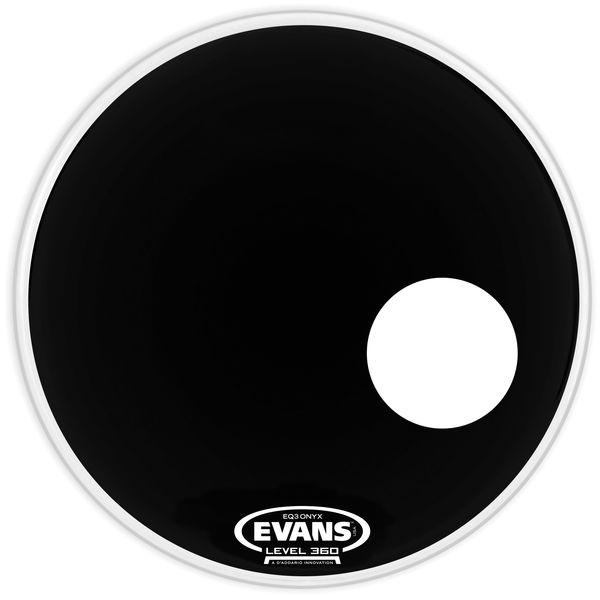 "Evans BD18RONX 18"" Onyx Resonant"