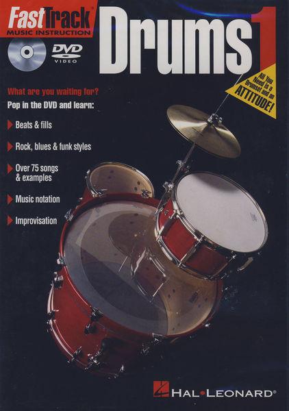 Hal Leonard Fast Track Drums Vol.1 DVD