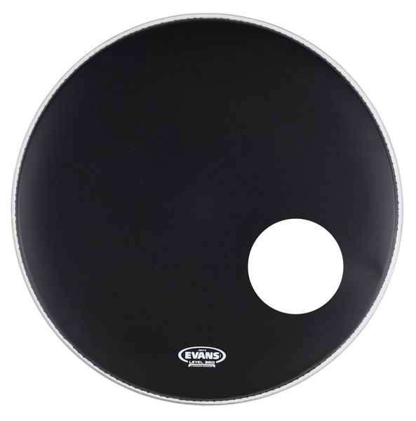 "Evans 20"" Onyx Resonant Bass Drum"
