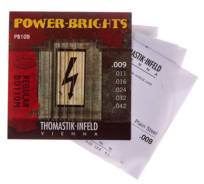 Thomastik Power Brights Light 009-042