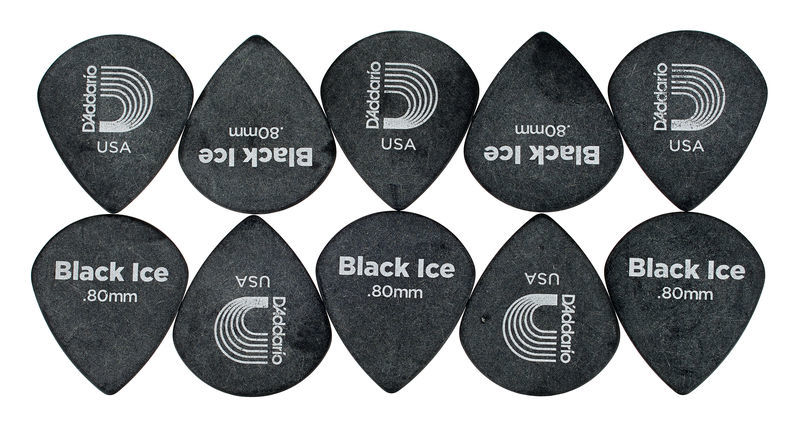Planet Waves 3DBK4-10 Bk Ice Picks Med