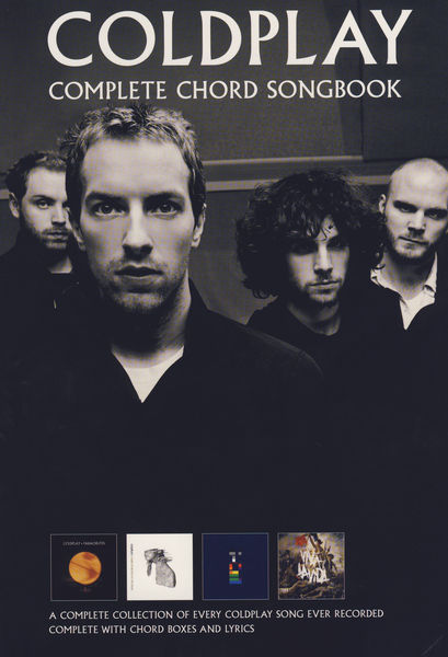 Wise Publications Coldplay Complete Chord Song