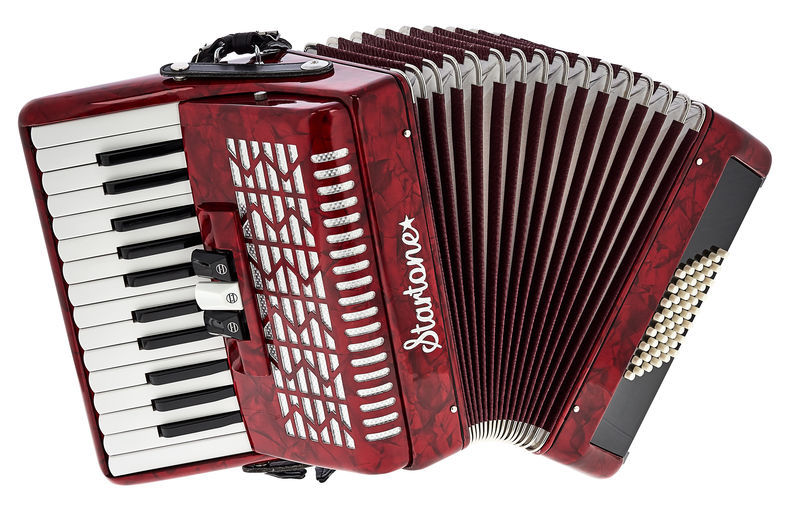 Maja 48 Accordion Red Startone