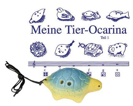 Thomann Ocarina 4H G Soprano Turtle YG