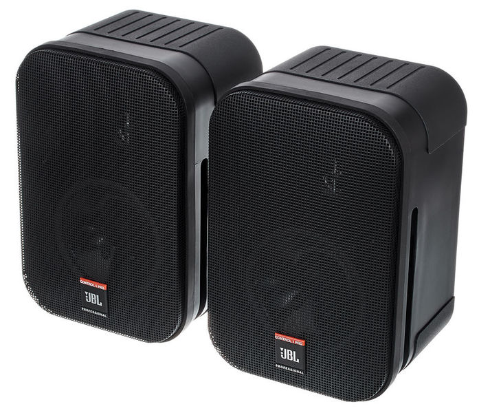 Pair Of Jbl Speakers Control 1x Video Production & Editing Audio For Video