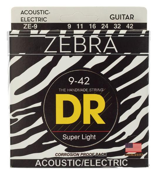 DR Strings DR A ZEBR ZE-9