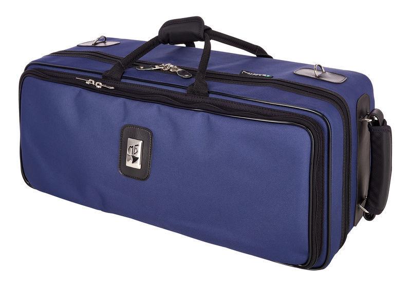 Marcus Bonna MB-02N Blue Case 2 Trumpets