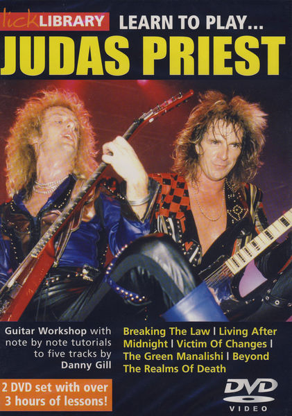 Music Sales Learn to Play Judas Priest