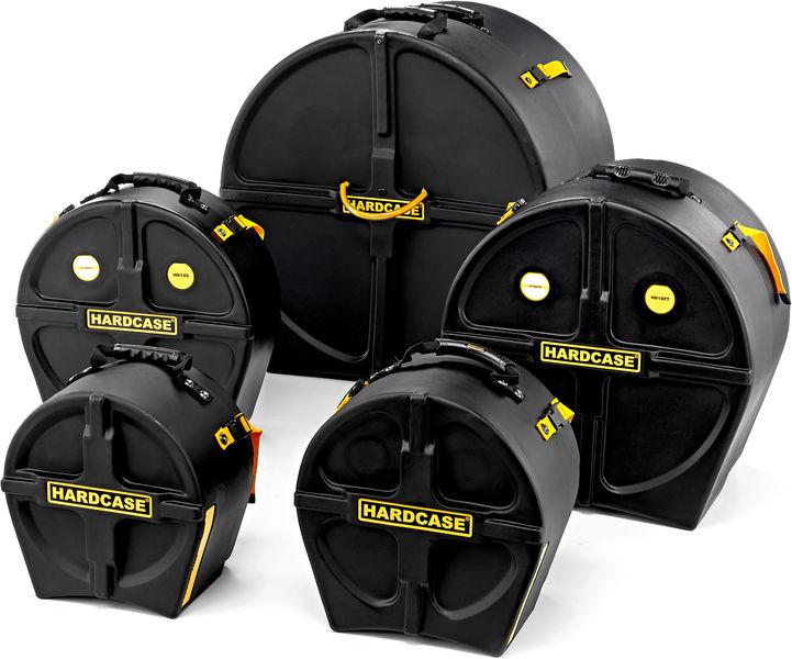 Drum Case Set HRockFus3 Hardcase