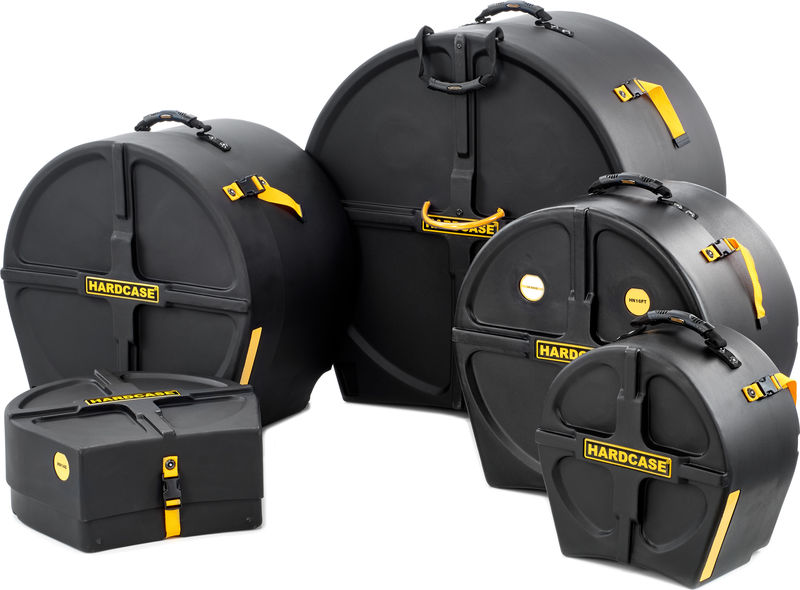 Hardcase Drum Case Set HRock1