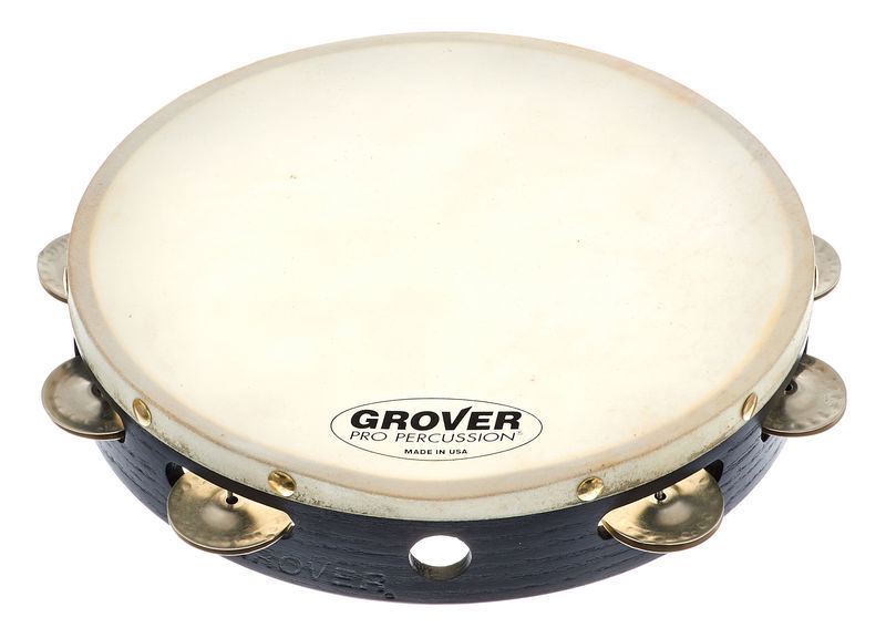 Grover Pro Percussion Tambourine T1/GS