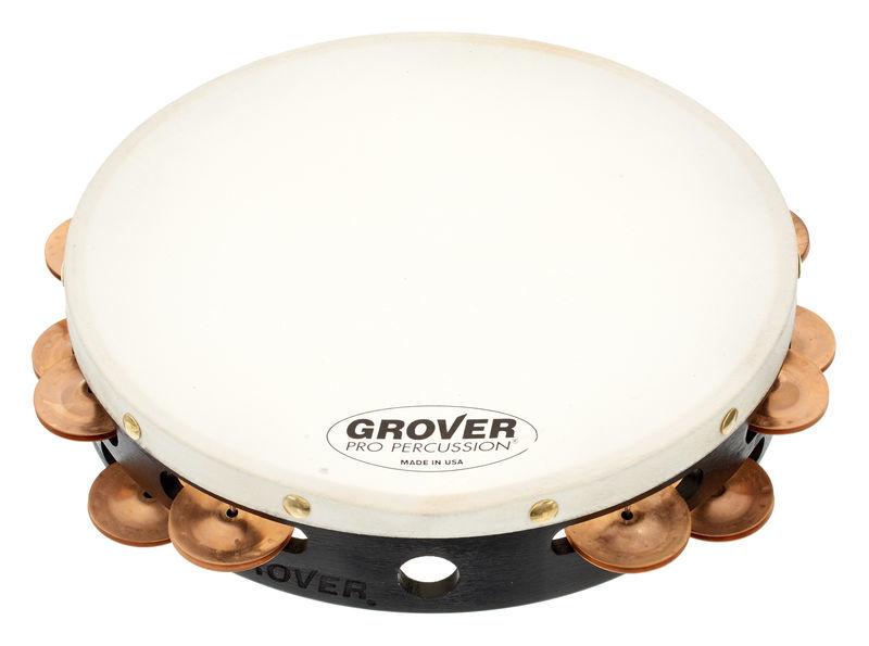Grover Pro Percussion Tambourine T2/BC
