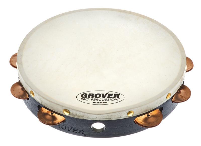 Grover Pro Percussion Tambourine T1/BC