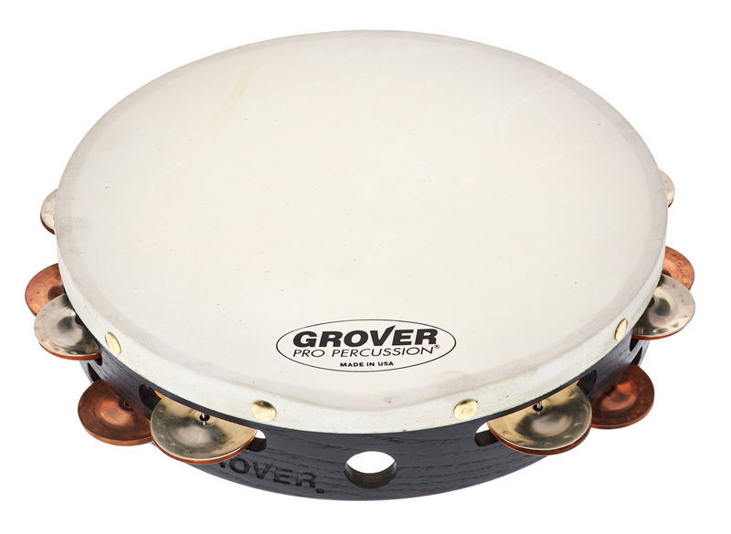 Grover Pro Percussion Tambourine T2/GsPh