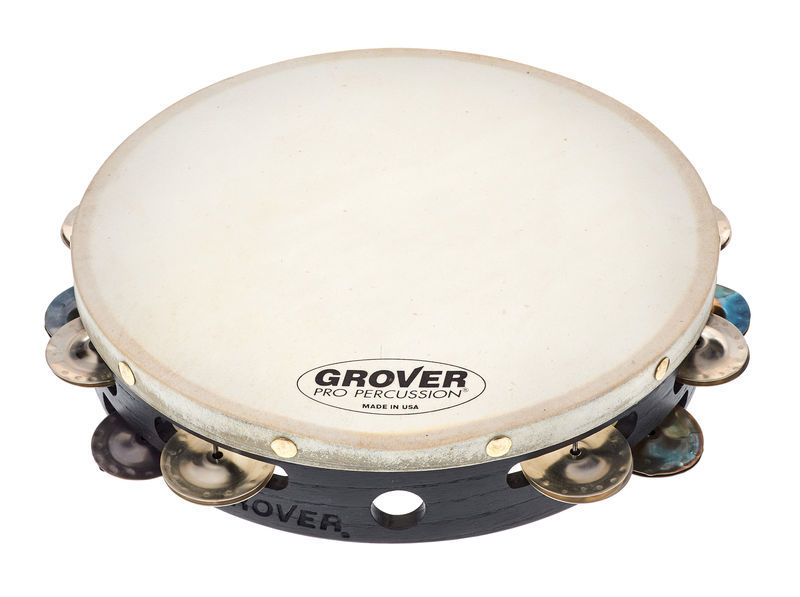 Grover Pro Percussion Tambourine T2/HS