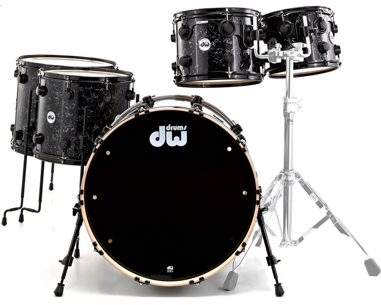 DW Finish Ply Shell Black Velvet