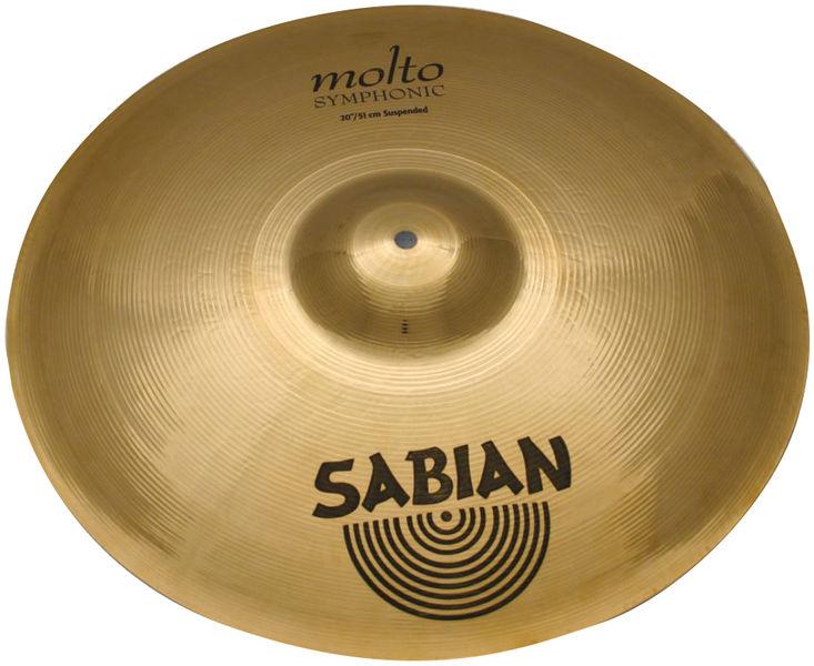 """Sabian 19"""" AA Molto Symp. Susp. Orch."""