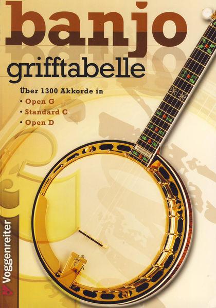 Voggenreiter Grifftabelle für Banjo