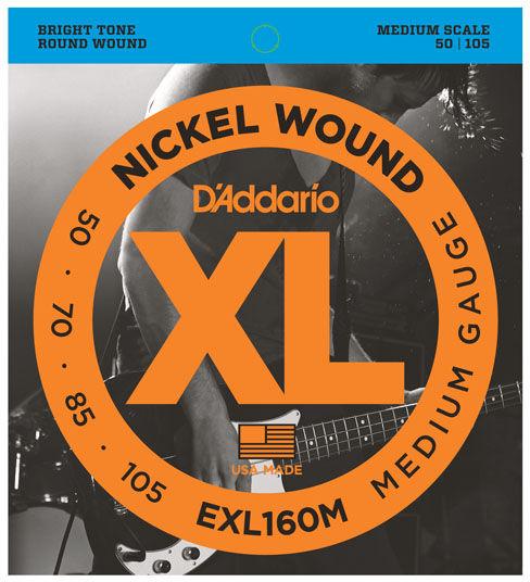 Daddario EXL160M