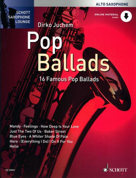 Schott Pop Ballads A-Sax