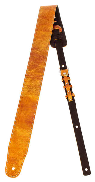 Richter Guitar Strap Luxury Worn Tan