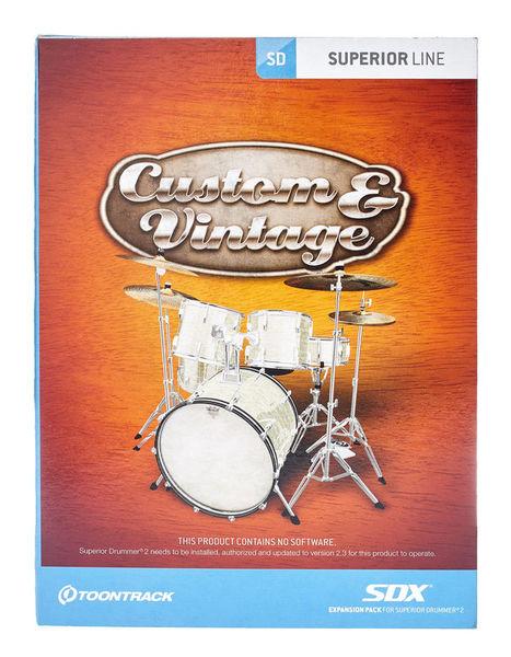 Toontrack SDX Custom & Vintage