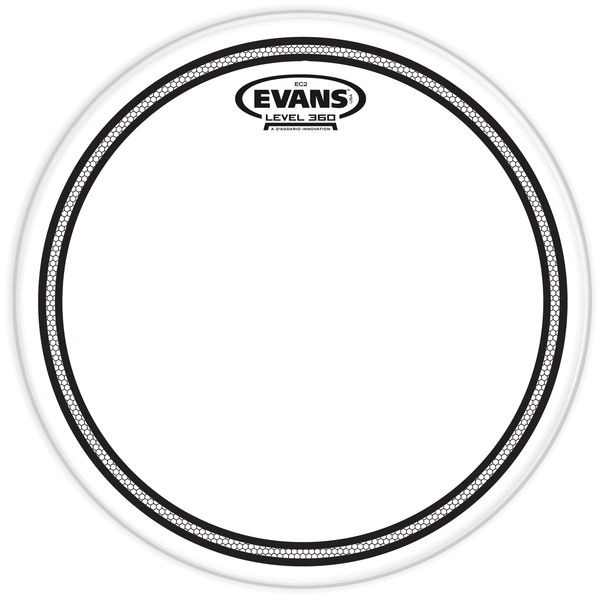 "Evans 13"" EC2S/SST Clear Control"