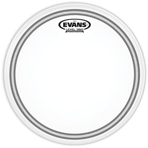 "Evans 12"" EC2S / SST Frosted Control"