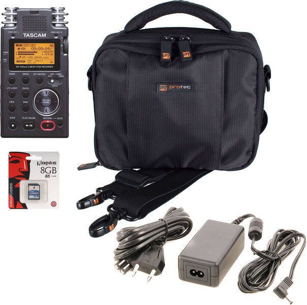 Tascam DR-100 Bag Bundle